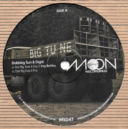 Dubbing Sun & Digid - One Big Tune A Day ft Troy Berkley (Moonshine) 12""